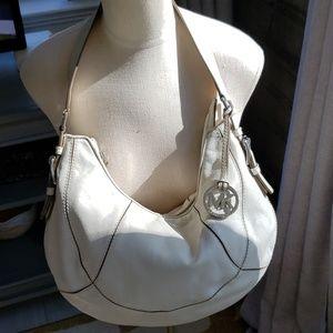 Michael Kors  cream/ off white shoulder bag